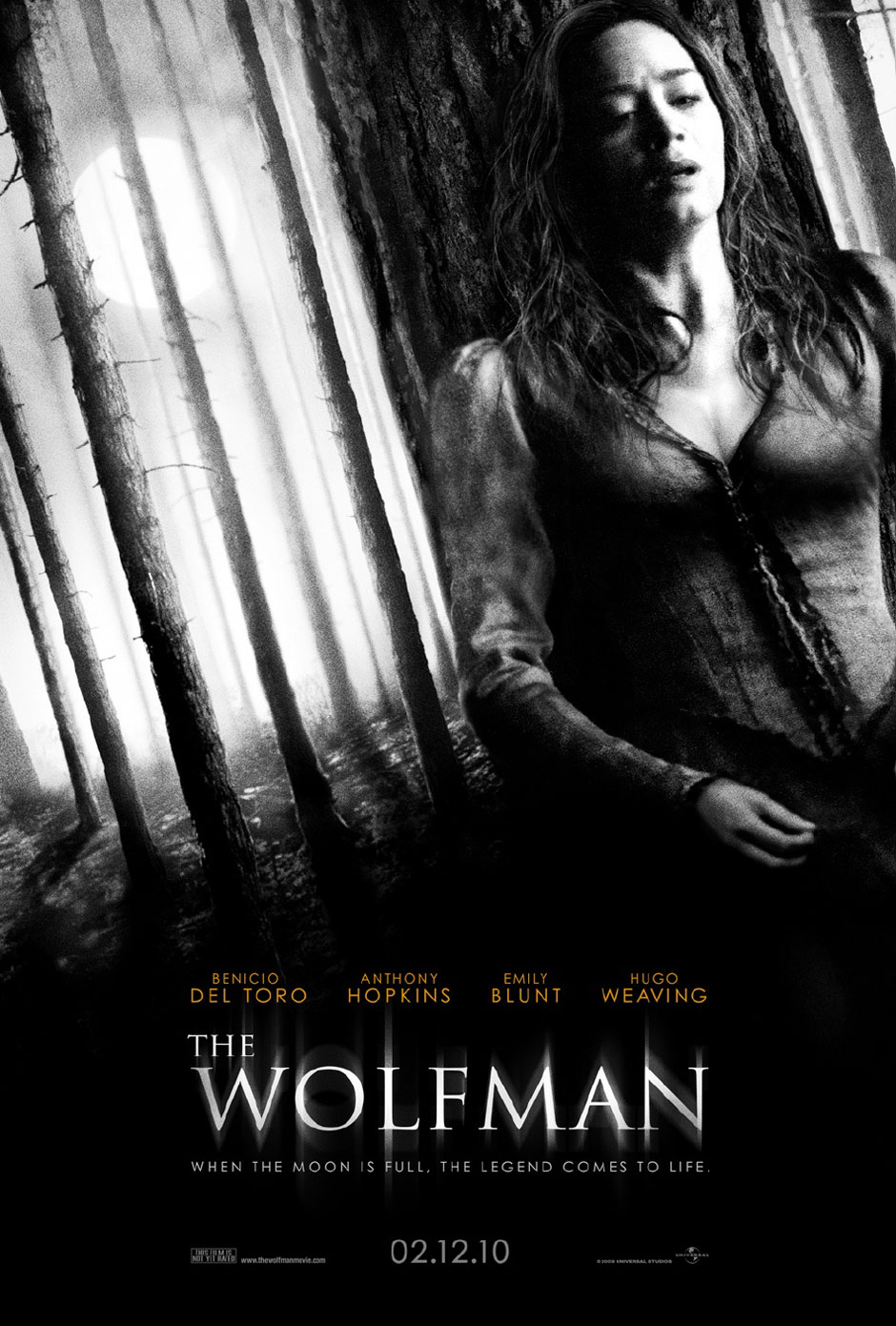 movie review  the wolfman  2010