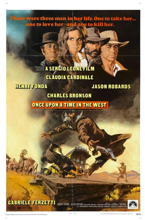 once upon a time in the west, sergio leone, charles bronson, jason robards, henry fonda, claudia cardinale, Cult Movie Mania, Daily Grindhouse, www.cultmoviemania.com, www.dailygrindhouse.com