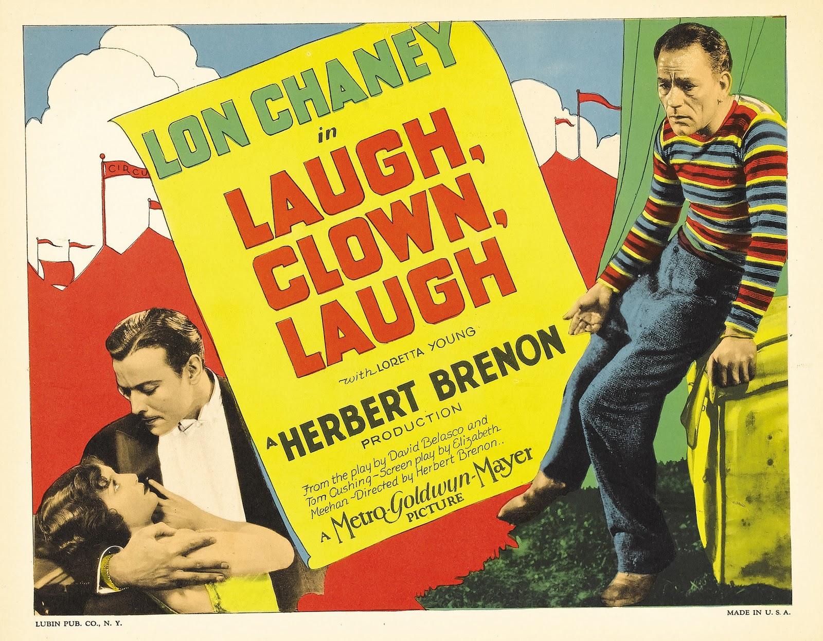 the unknown  1927     laugh  clown  laugh  1928