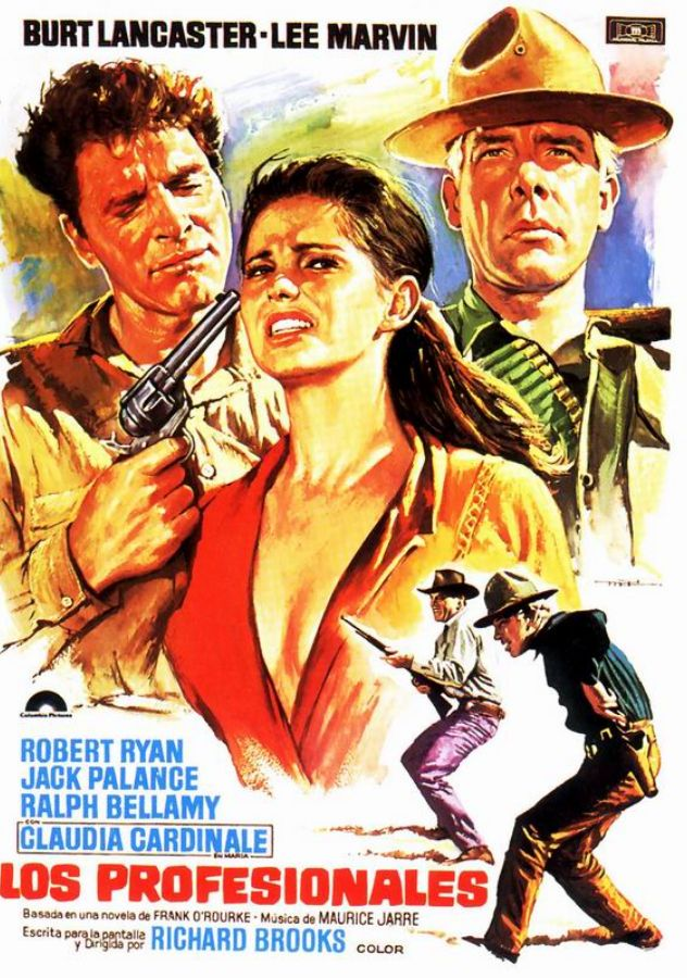 movie of the day  the professionals  1966