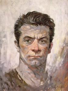 Frazetta Self-Portrait